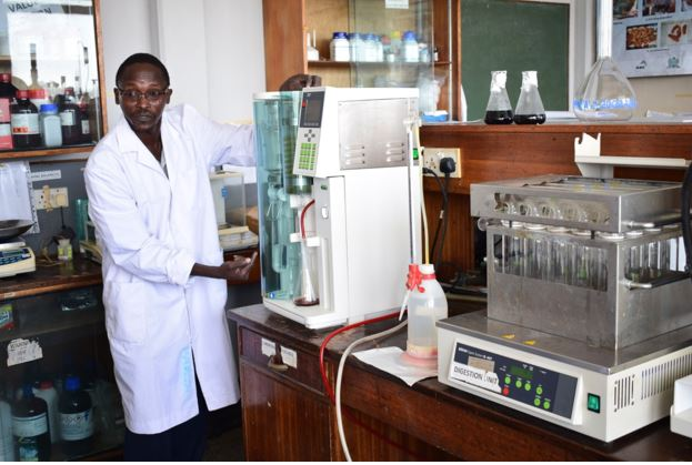 Kenya Marine and Fisheries Research Institute - Laboratory