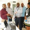 Visit to labs by delegation from Nairobi University